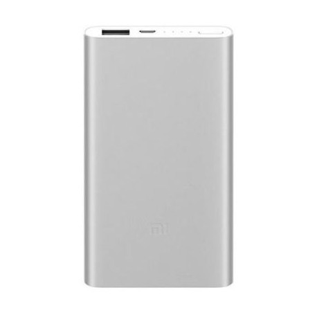 POWERBANK UNIVERSAL XIAOMI MI POWER BANK 2 SILVER - 5000MAH - USB CINZENTO